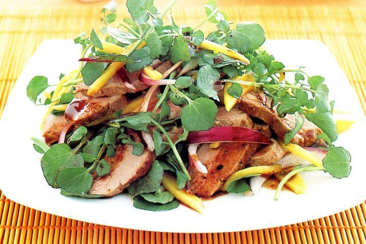 Peppered pork salad 1