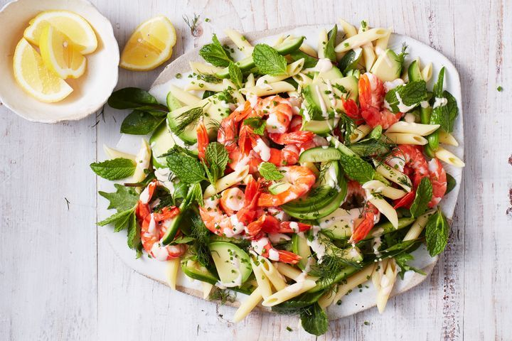 Prawn cocktail pasta salad 1