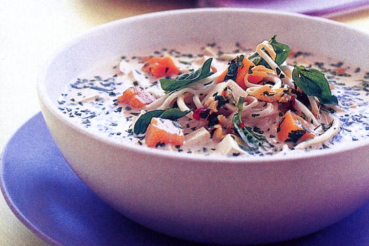 Pumpkin & tofu laksa 1