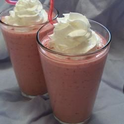 Quenching Creamy Raspberry Punch 1