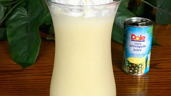 Quick Pina Colada Smoothie 1