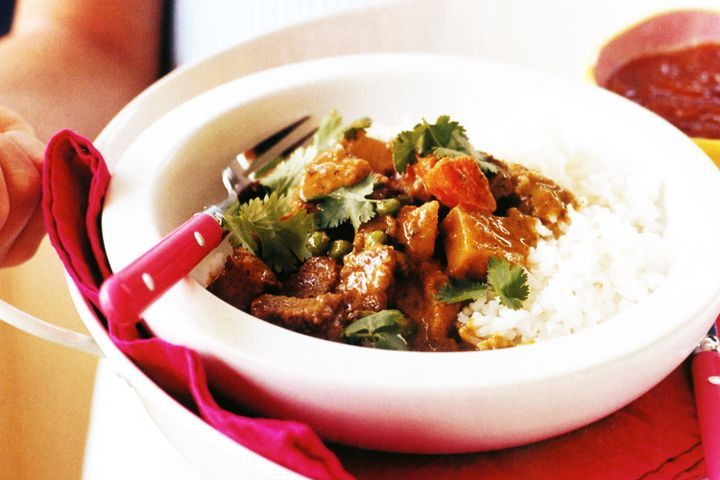 Quick lamb curry 1
