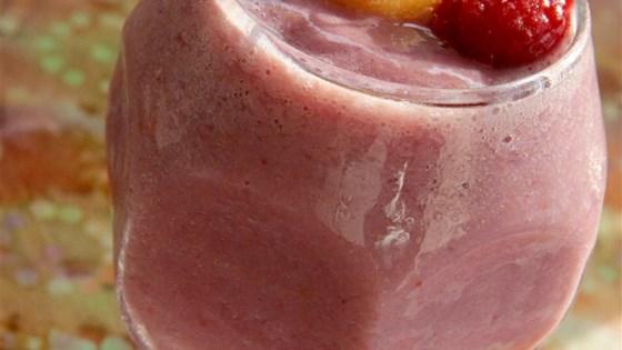Raspberry Cantaloupe Smoothie 1