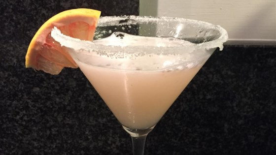Ruby Red Grapefruit Martini 1