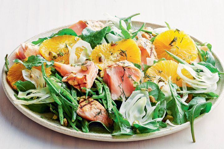 Salmon and fennel salad 1