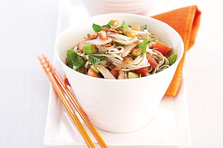 Soba noodle salad 1