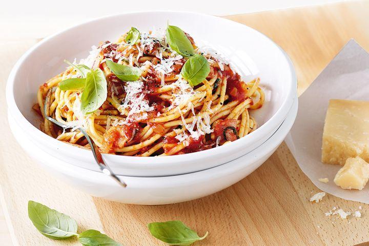 Spaghetti matriciana 1