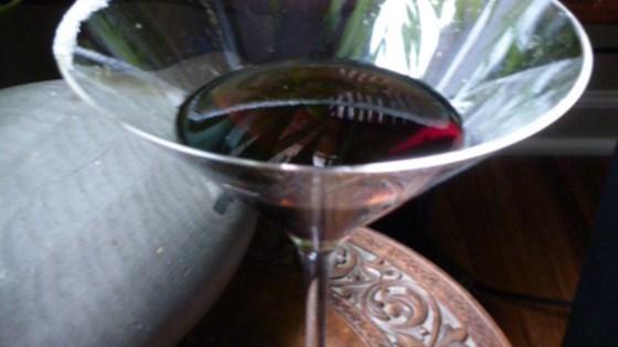 Sparkling Chocolate Martini 1