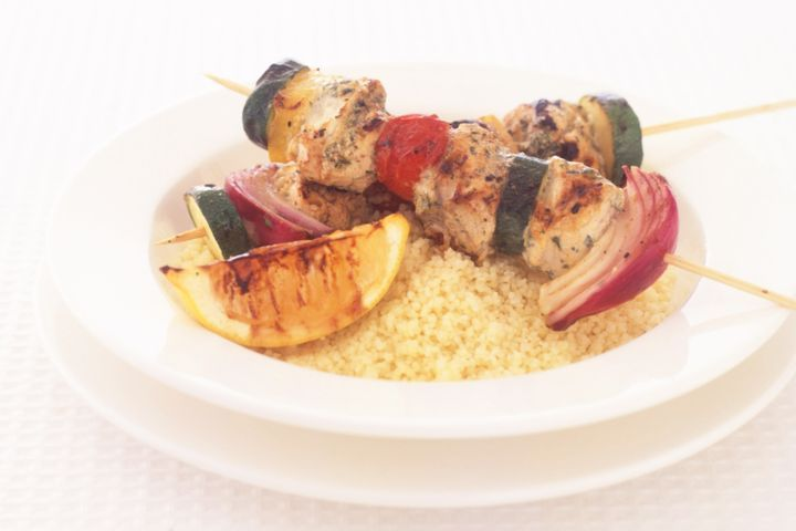 Spiced blue-eye kebabs 1