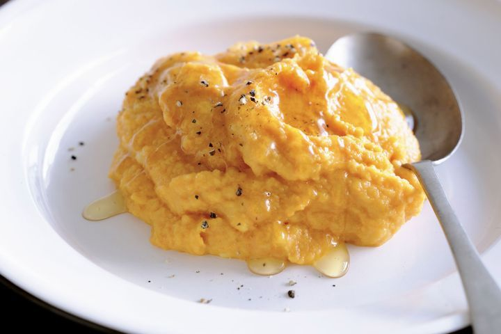 Spiced carrot and pumpkin mash 1