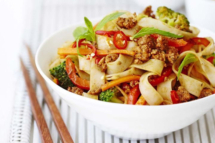 Spicy Szechuan beef and broccoli stir-fry 1