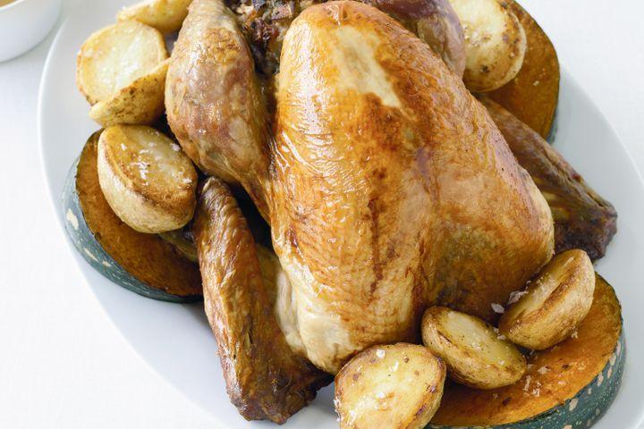 Step-by-step roast turkey 1
