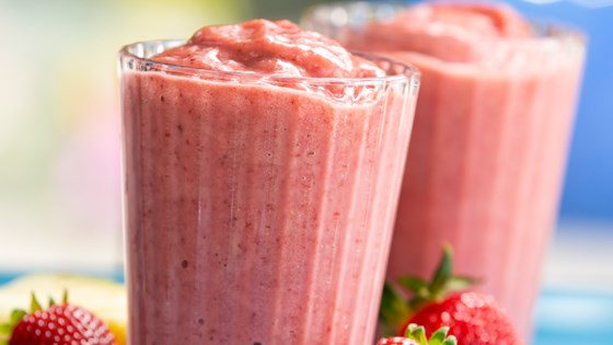 Strawberry Banana Breeze Smoothie