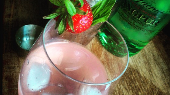 Strawberry-Gin Cocktail 1