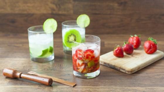 Strawberry Kiwi Caipirinha 1