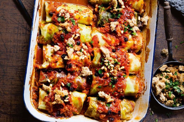 Stuffed cabbage rolls 1