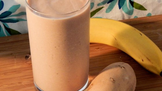Sweet Potato-Banana Smoothie 1