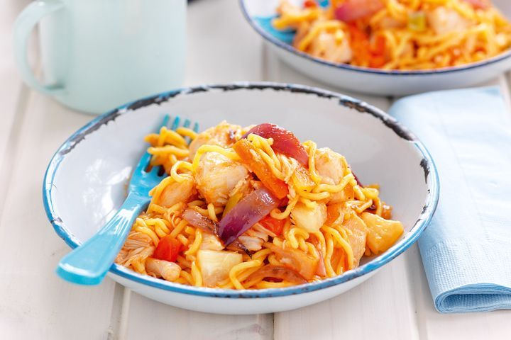 Sweet and sour noodles 1