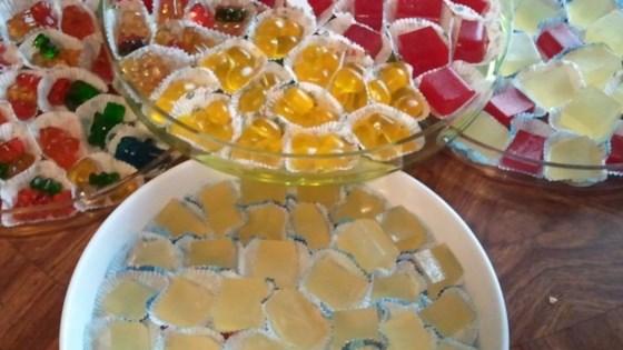 Tart Lemon Drop Jelly Shots 1