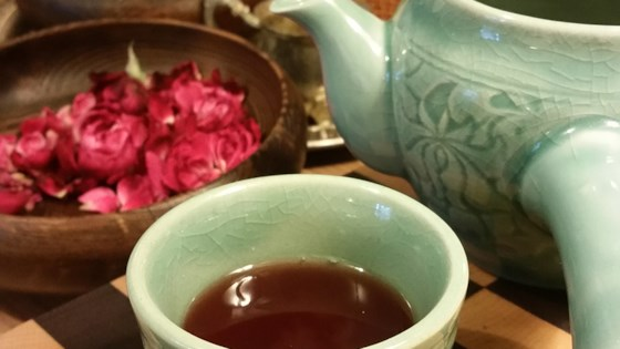 Tart Rose and Ginger Tea 1