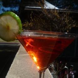 Tres Chic Pomegranate Martini