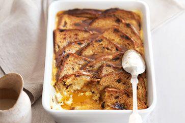 Vanilla cinnamon bread and butter pudding 1