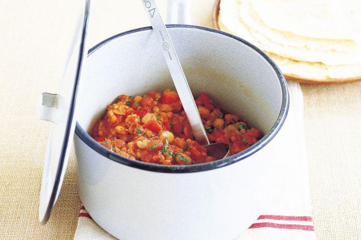 Vegetarian chilli 1