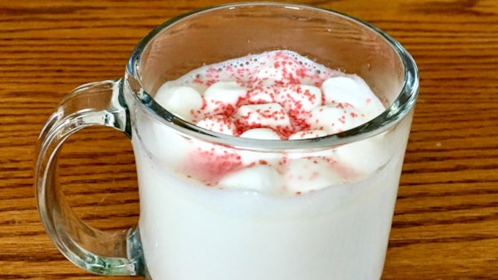 White Hot Chocolate with Marshmallows 1