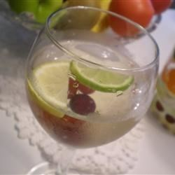 Winter White Sangria