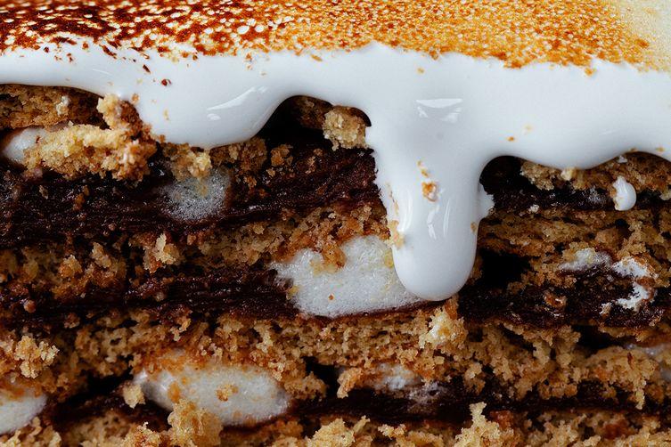 S'Mores PuddingCake 1