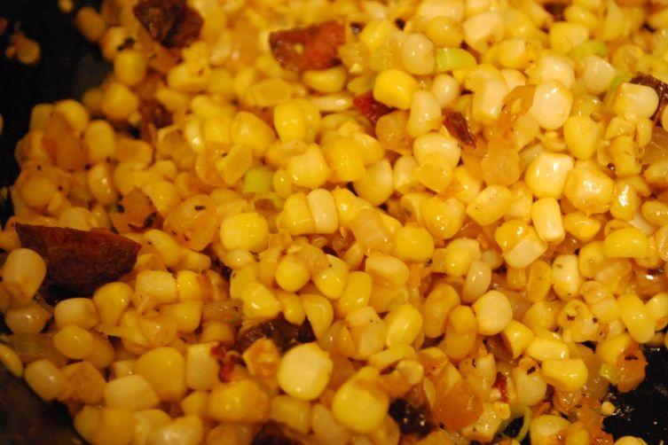 Corn Sauteed withChorizo 1