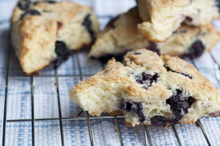 Lemon-Blueberry Ricotta Scones 1