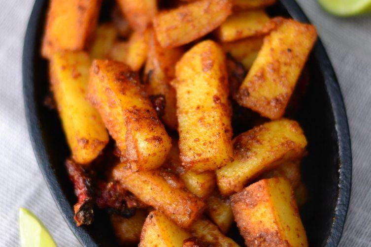 Sweet n' sour potatoFry 1