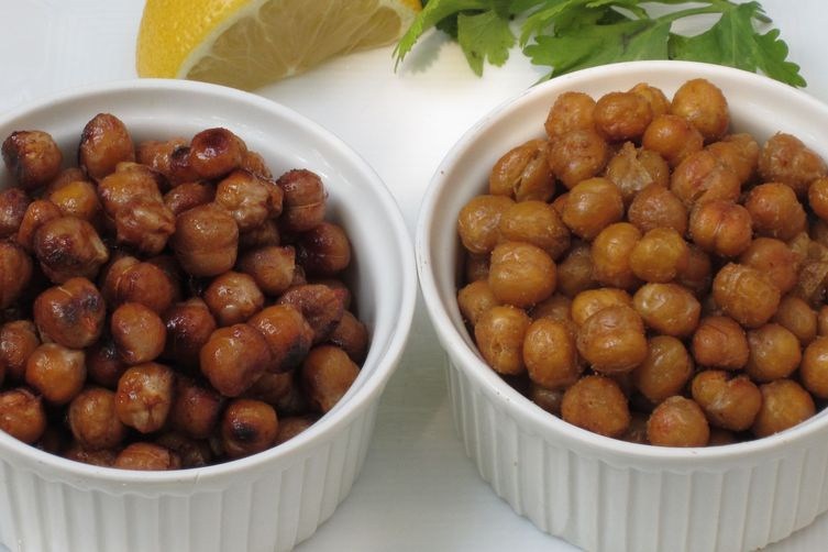 Roasted Chick Peas Two Ways 1