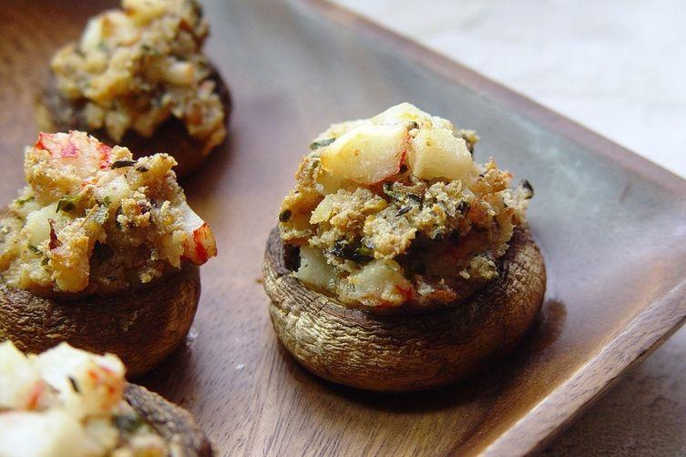 Crab & Herb StuffedMushrooms 1