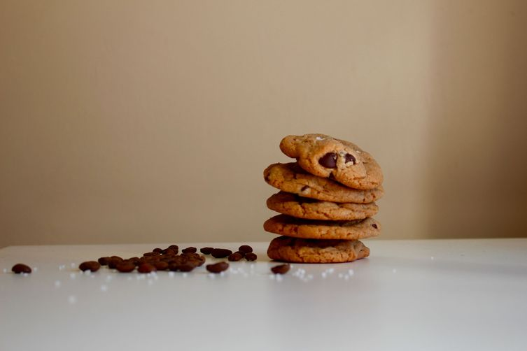 Slightly Salted Chocolate ChipCookies 1