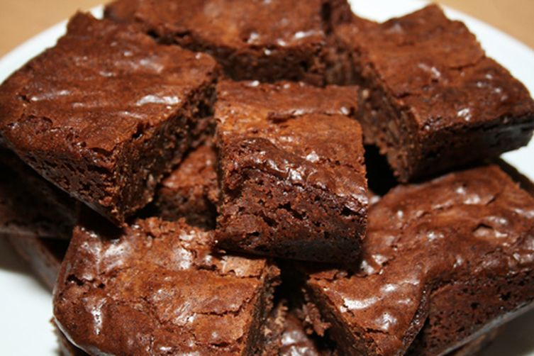 Sticky ChocolateBrownies 1