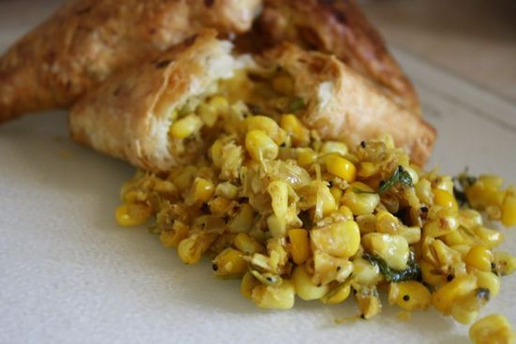 Corn Usal in PuffPastry 1