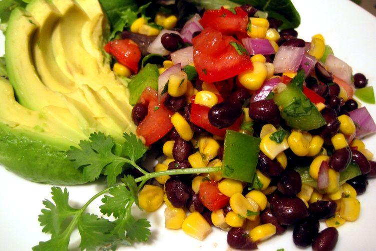 Black Bean and Corn FiestaSalad 1