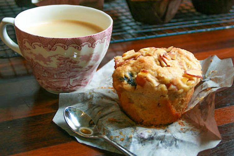 Apple, Cherry, Pear and Almond BreakfastMuffins 1