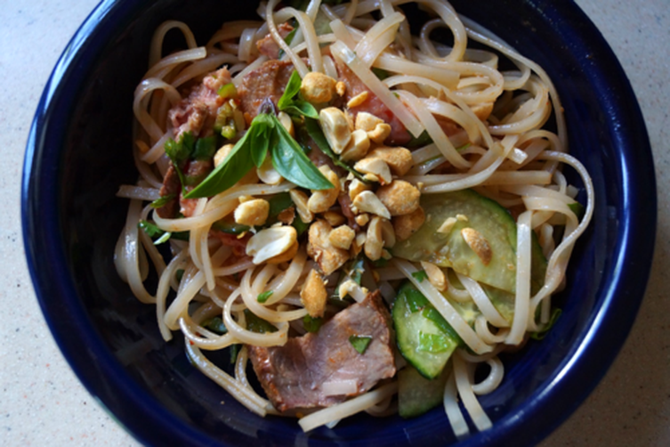 Fiery Beef and Rice NoodleSalad 1