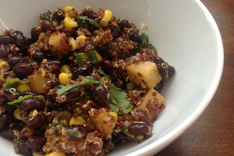 Mango and Quinoa Chopped Salad with Ancho-Mango Dressing 1