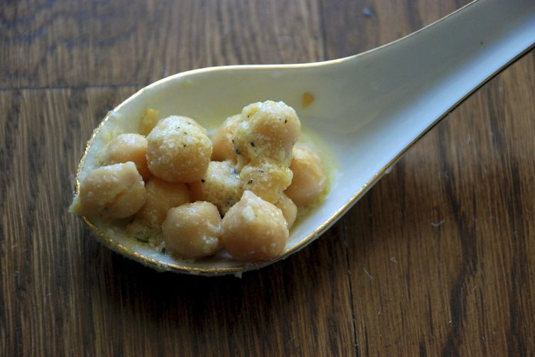 Rosemary-Lemon Garbanzo BeanSpoons 1