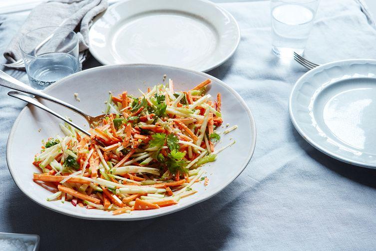 Martha Stewart's Sweet Potato, Celery, and AppleSalad 1