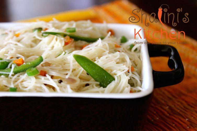 Spiced Rice NoodleUpma 1