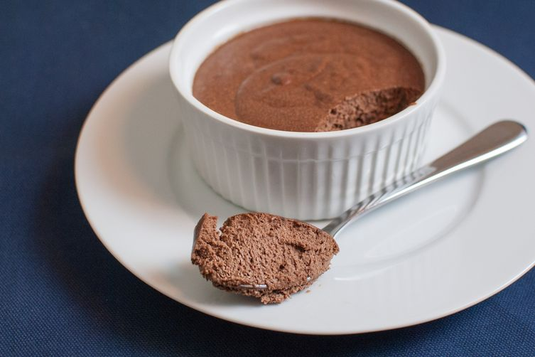 Salted Dark Chocolate Mousse 1
