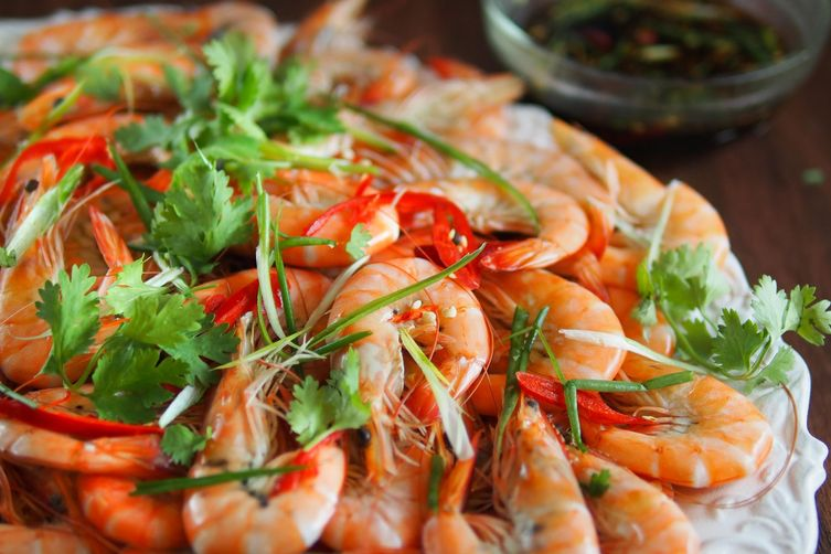 Cantonese Boiled Shrimps 1