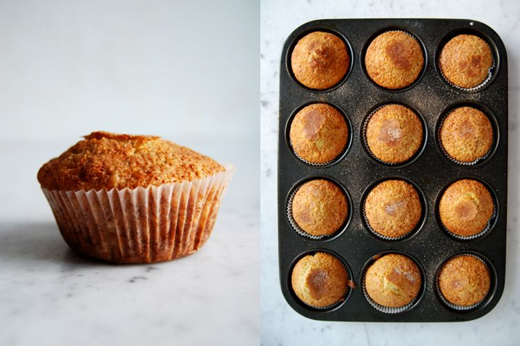 Wintery Sunday Morning Muffins with Blood OrangeMarmalade 1