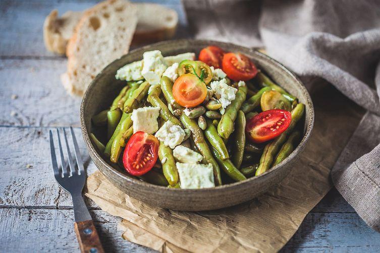 Balsamic Green BeansSalad 1