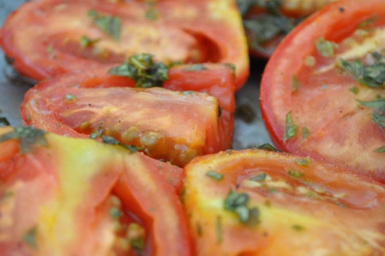 Slow Roast Tomatoes 1